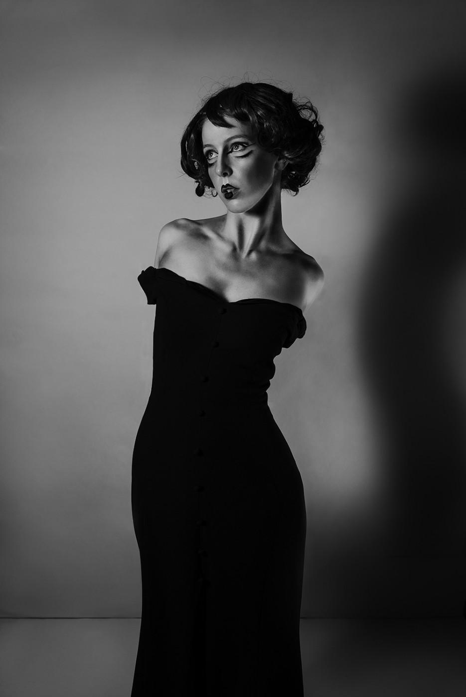 MICHEILA PETERSFIELD Black Dress 2016 Archival digital print 120 x 80 cm (unframed) Signed verso - Ed. of 5