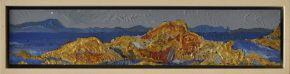 Web Size Ian Marr Barron Satellite island From Ventenat 2014 enamel on copper 7.5 x 387 cm